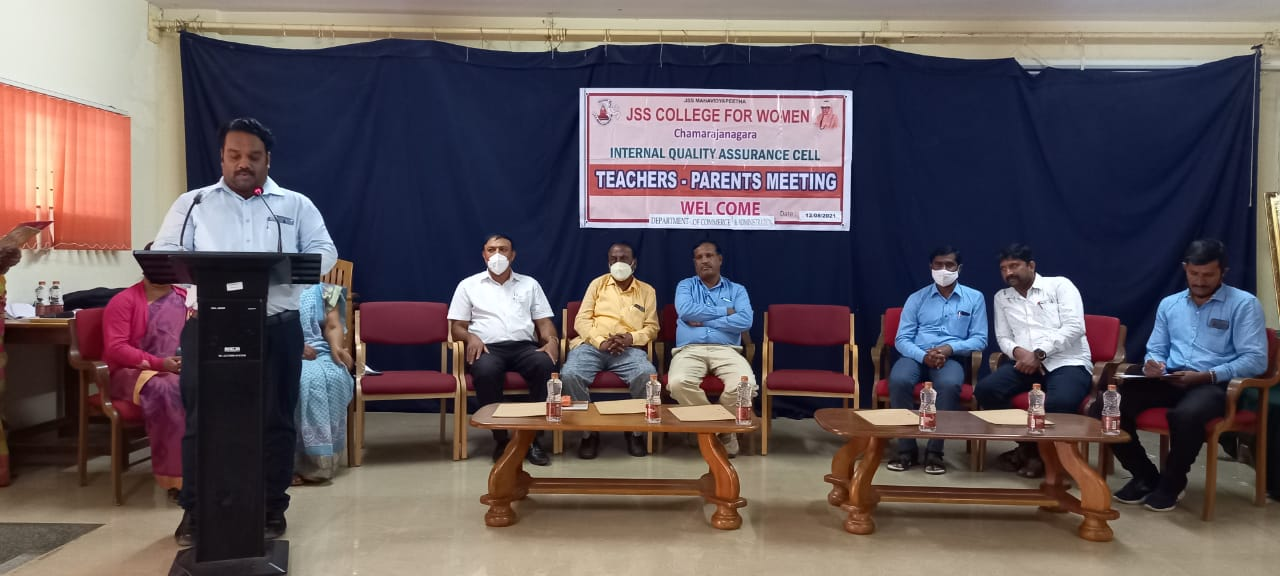 Department of Commerce and Administration  Parent-teachers Meeting:12-08-2021